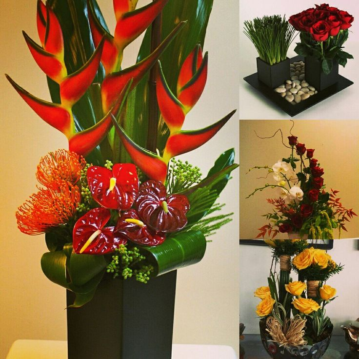 Gift beautiful dry and artificial flowers vases! Or Welcome your guests with these natural-looking flowers to sync with look of your home. #InspiredFloralCreations