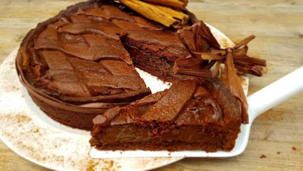 Crostata al Cioccolato di Ernest Knam con o senza Bimby