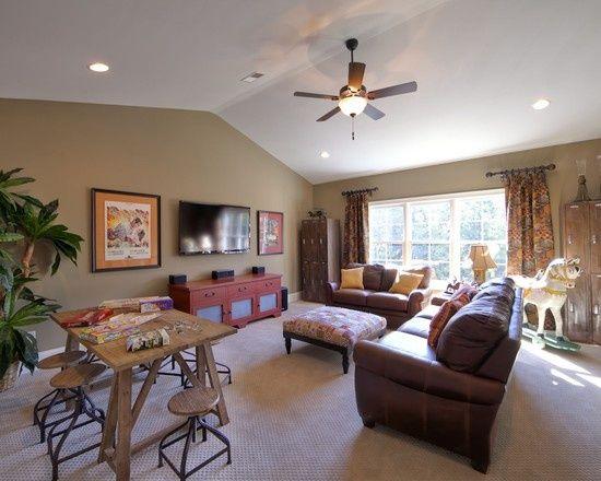 17 Most Popular Bonus Room Ideas Designs u0026 Styles & The 455 best Bonus Room Ideas images on Pinterest   Home ideas Good ...