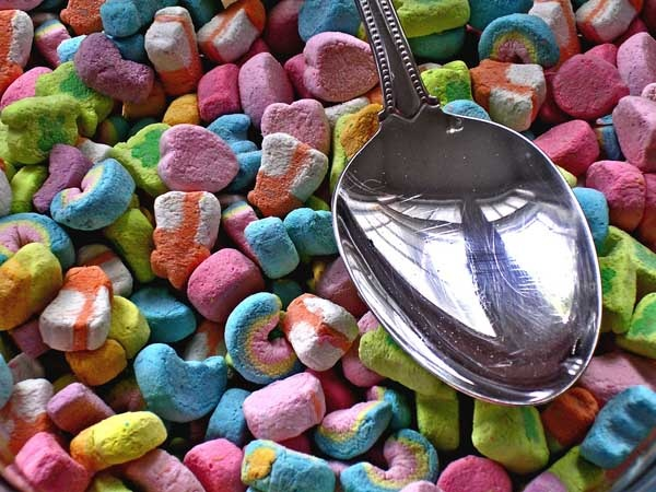 i love lucky charms