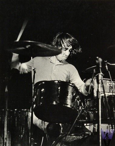 Keith Moon - Woodstock (Bethel, NY) Aug 15, 1969