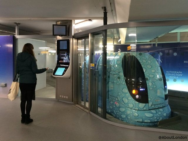 Have you seen these pods at Heathrow Airport?