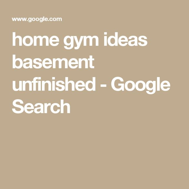 Best 25+ Home Gym Basement Ideas On Pinterest