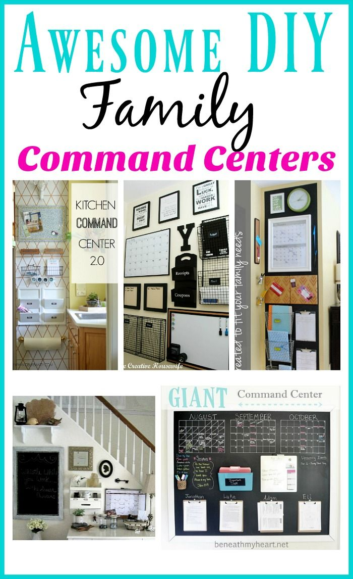 Diy Kitchen Calendar : The best command centers ideas on pinterest office