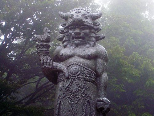 Radegast, a god of Slavic mythology and is said to be associated with fertility, agriculture, war, and the evening sky. He resides in the mountains and also is usually associated withhospitalityand fire.
