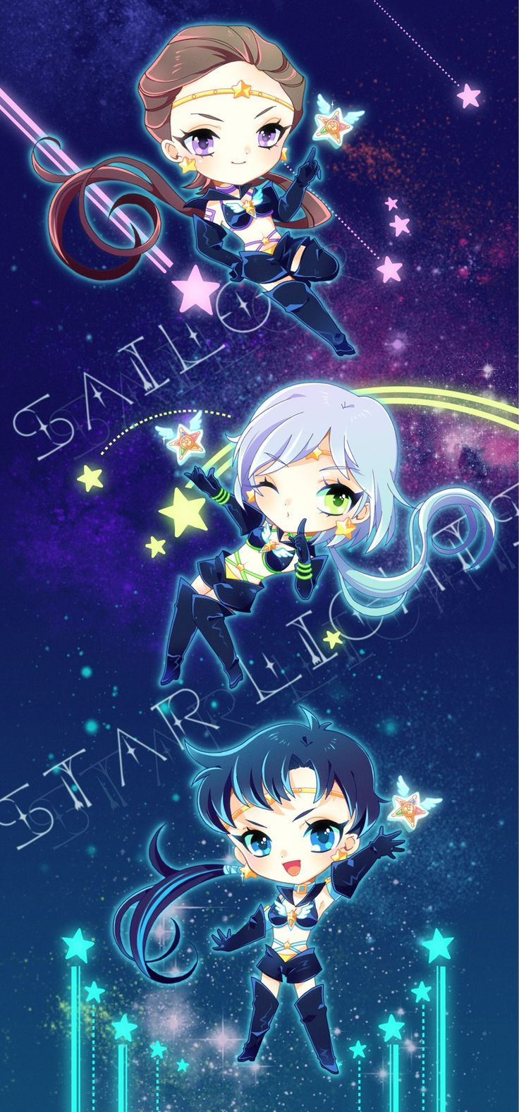 Sailor Star Lights! (Sailor Moon!)