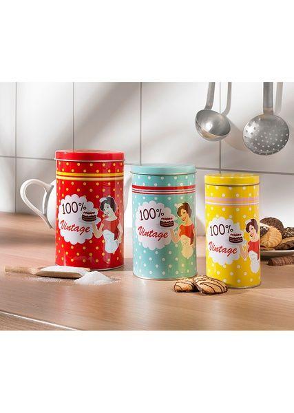 Баночка для сыпучих продуктов «Винтаж» • 139.0 грн • Bon prix