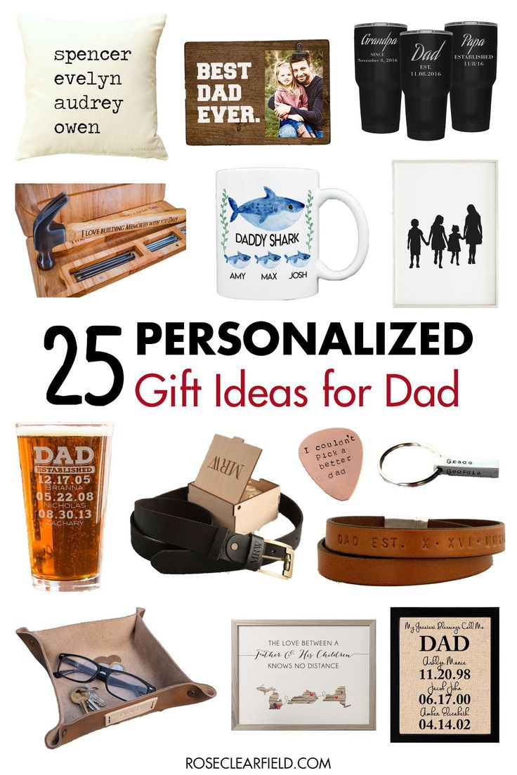 custom gifts for dads birthday