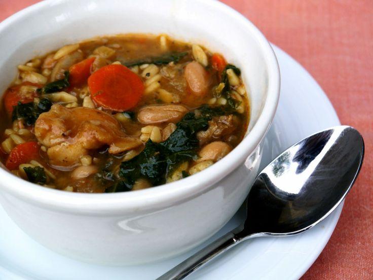 "Winter White Bean Chicken Soup | ""NO SOUP FOR YOU!"" | Pinterest"