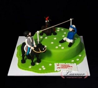 Торт конный спорт