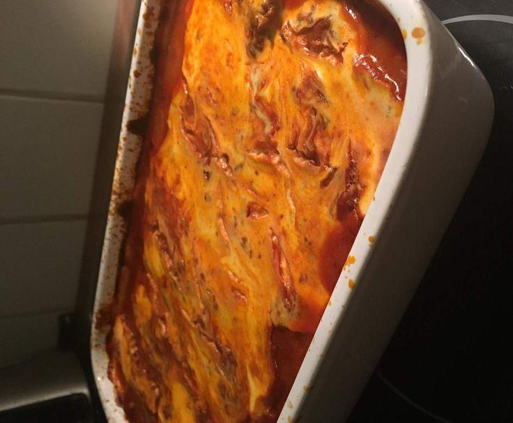 Rezept Kohlrabi-Lasagne, Stoffwechselkur geeignet, strenge Phase von NinschKing - Rezept der Kategorie Hauptgerichte mit Fleisch