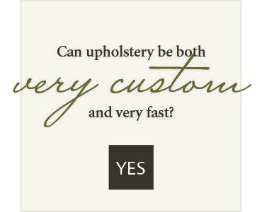 very customvery fastyes