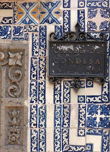 tilework - centro Historico de la Ciudad de Mexico