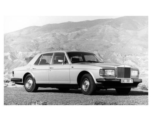 1987-Rolls-Royce-Silver-Spirit-ORIGINAL-Factory-Photo-ouc0905