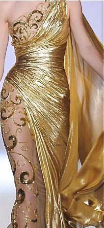 Zuhair Murad gown details