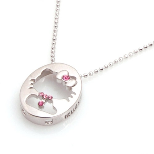 Hello Kitty necklace. This is unique. Haven't seen one like this before.