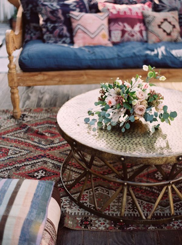 vintage bohemian colors & textiles + modern profiles