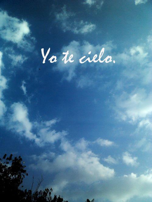 """""""¿se pueden inventar verbos? quiero decirte uno: yo te cielo, así mis alas se extienden enormes para amarte sin medida."""" - Frida Kahlo"""