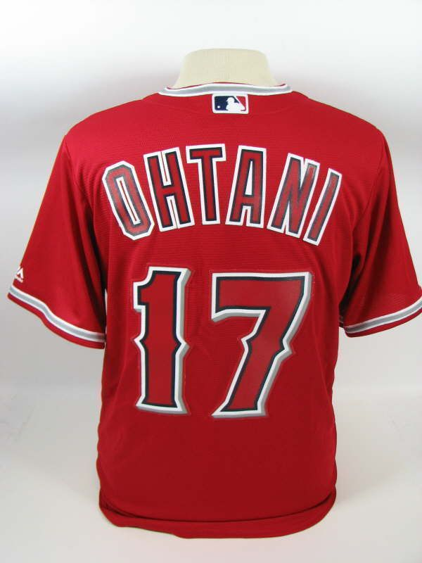 4445d03e08b LOS ANGELES ANGELS SHOHEI OHTANI RED COOL BASE MENS MEDIUM JERSEY NWT