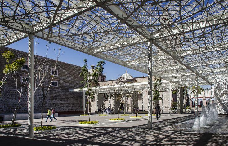 Patio de las Jacarandas: Rescate urbano del centro histórico de Aguascalientes, México