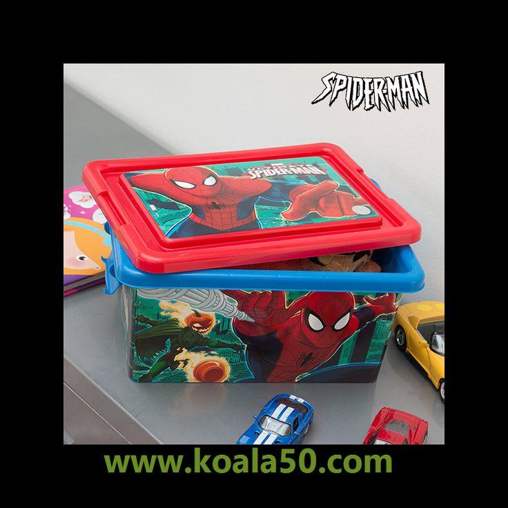 Organizador de Juguetes Spiderman (32 x 23 cm) - 5,93 €   ¿Quieres sorprender a los más pequeños con un regalo muy original? El organizador de juguetes Spiderman (32 x 23 cm) decorará y ordenará sus habitaciones.Fabricado de polipropilenoMedidas...  http://www.koala50.com/organizadores/organizador-de-juguetes-spiderman-32-x-23-cm