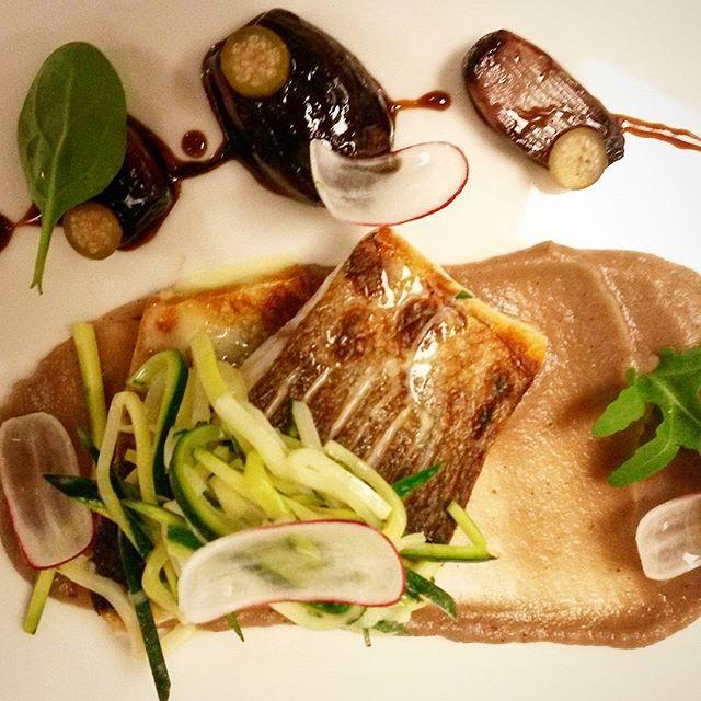 divinis#theartofplating#food#foodie#sweet#seabass#branzino #onions # ...