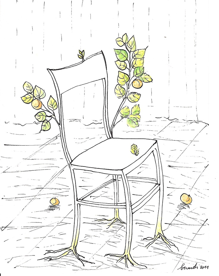 cristina berardi , Apricot Chair