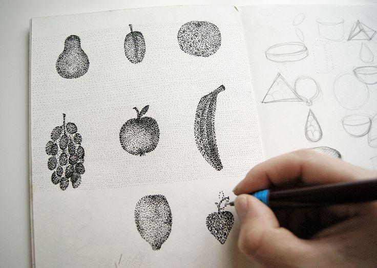 A fruity sketch in my notebook :)