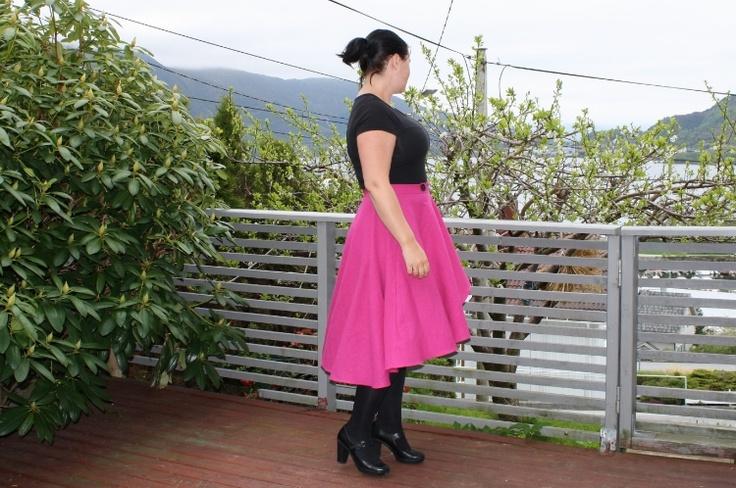 Slaraffenliv: Megan Nielsen Cascade Skirt