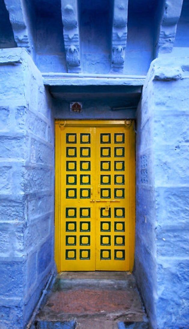 #Door Jodhpur, Rajasthan, India