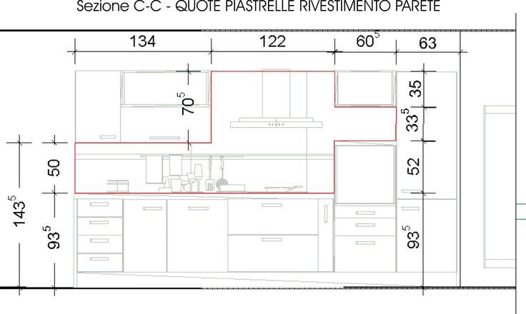 Risultati immagini per altezza cappa cucina floor for Posa alzatina cucina