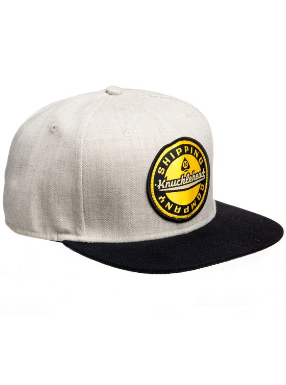THE GREASER CAP 6 panel snap-back cap.