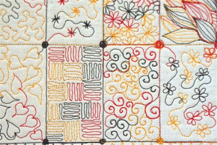 Machine embroidery stitches names google search