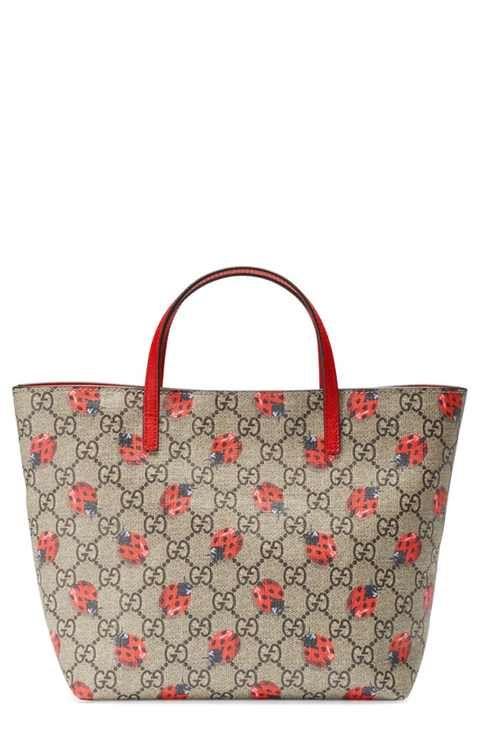 Gucci 'Ladybug' Tote (Girls)