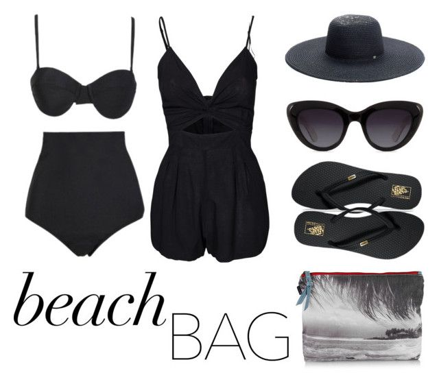 """beach bag"" by la224 on Polyvore"