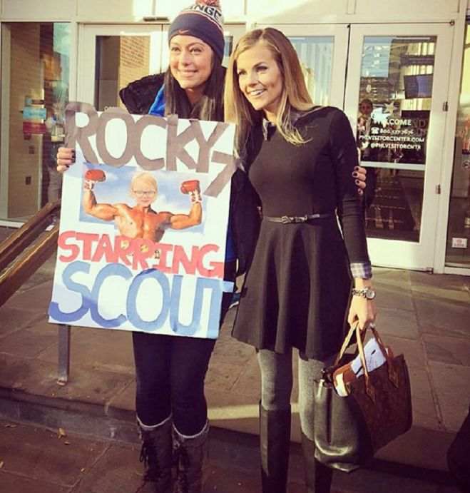 THE APPRECIATION OF BOOTED NEWS WOMEN BLOG : THE BEST PART OF COLLEGE GAME DAY IS SAMANTHA PONDER IN BOOTS