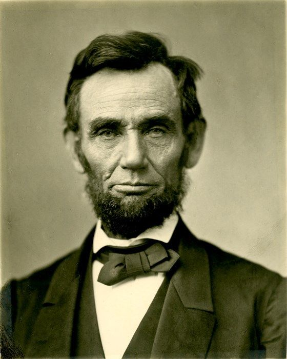 """""""Gettysburg Portrait""""November 8, 1863: his famous image of Lincoln was photographed by Alexander Gardner on November 8, 1863, just weeks before he would deliver the Gettysburg Address. It is sometimes..."""