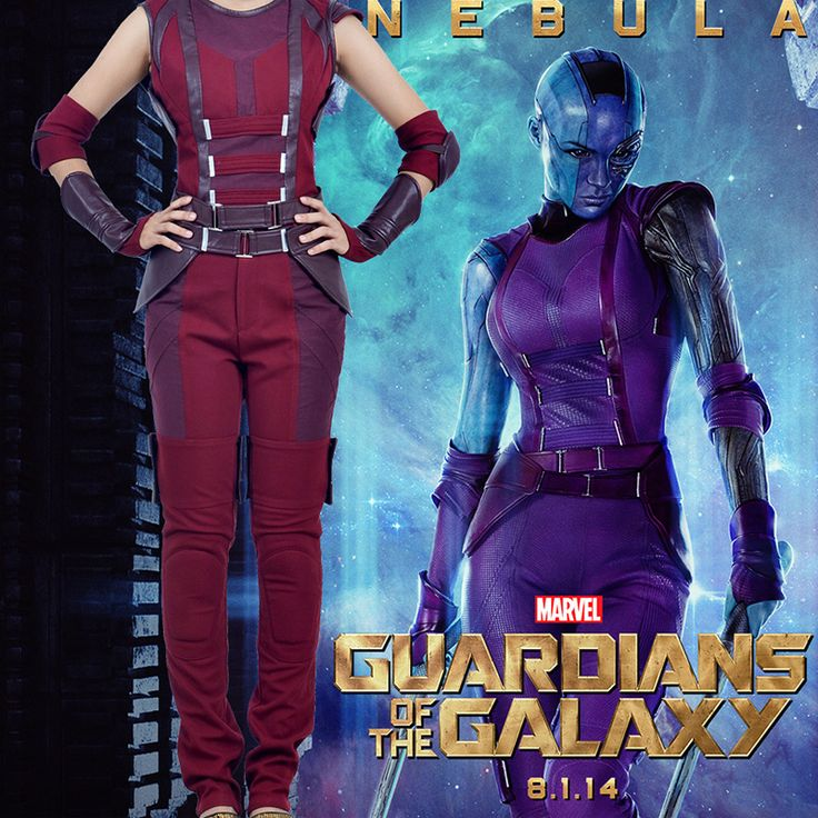Guardians of the Galaxy Nebula Cosplay Costumes