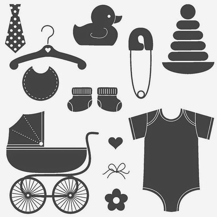 111 Best Silhouette Baby Images On Pinterest Appliques