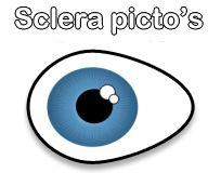 Sclera picto's