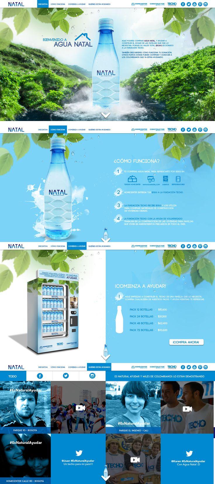 Agua Natal - Website