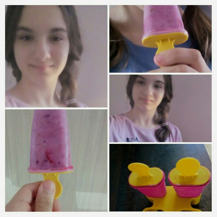 Ice cream 😋🍓🍦👅
