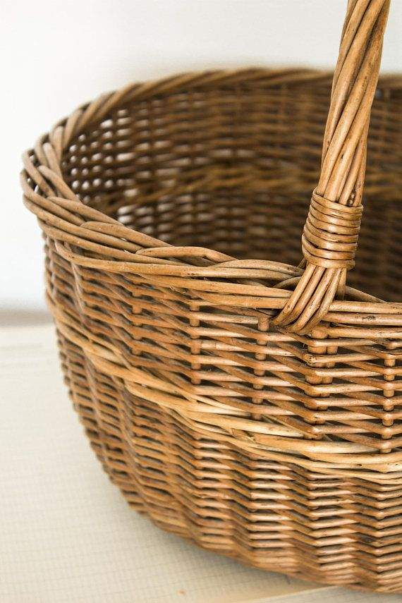 French Woven Basket French Wicker Baskets With Handles Painting Wicker Furniture Wicker Furniture Cushions