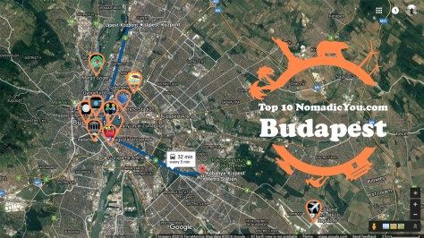 Best Sights Budapest Transit Map www.NomadicYou