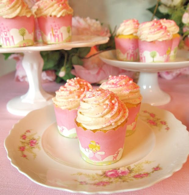 The Alchemist - The Best Moist White Cupcake Recipe - Topped with a Silky Not Too Sweet Butter Frosting
