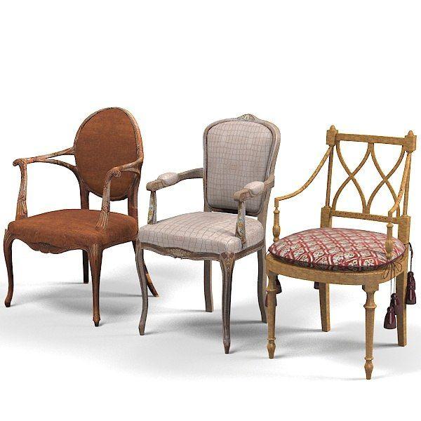 3D Model Provasi Grifoni Chair   3D Model