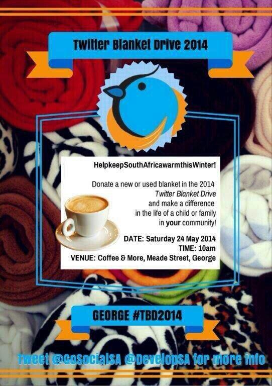 #TBD2014  #TwitterBlanketDrive #TBDAfrica @TBDAfrica
