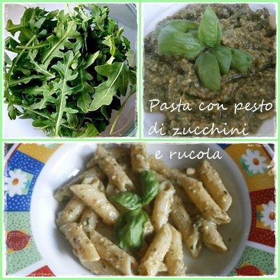 Pesto z cukinek a rukoly (Pesto di zucchine e rucola)
