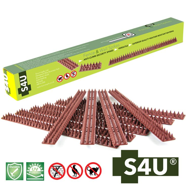 Fence Spikes-Wall Spikes-Bird Spikes-Intruder Security-Garden Security-Fence-Wall-Gates-Ledges-Sheds