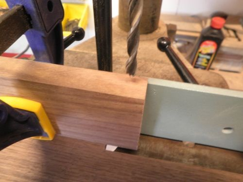 Wooden Double Action Hinge